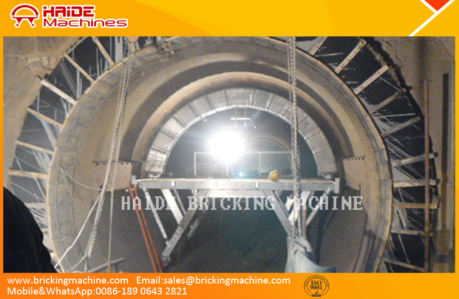 Supply of pneumatic rotary kiln bricking machine